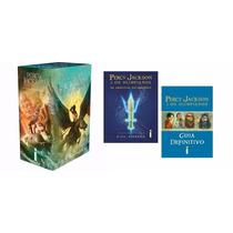 Box Percy Jackson E Os Olimpianos - 7 Livros - Frete Grátis