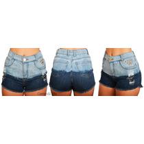 Short Jeans Cintura Alta Customizado