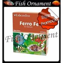 Alcon Labcon Teste Ferro Fe Fish Ornament