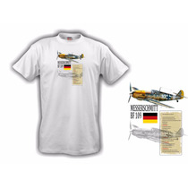 Camiseta Aeromodelismo Messerschmitt Bf109 - Hobbie Brasil