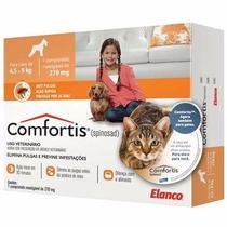 Comfortis Anti Pulgas Cães 4,5 A 9 Kg Gatos 2,8 A 5,4kg