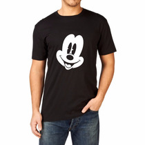 Camiseta Mickey Mouse Rosto Masculina Exclusiva