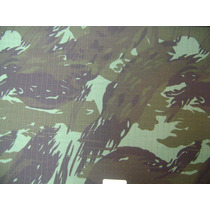 Tecido Camuflado Ripstop Policia Ambiental (3) - 2 Metros