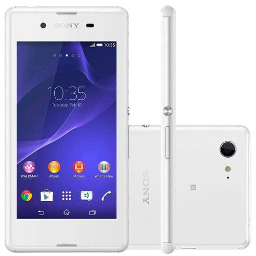 Celular Sony Xperia E3 D2212 Dual 3g, Android 4.4, Wi - fi