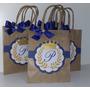 Sacolinhas Personalizadas Festa Infantil-principe Kit C/ 25