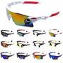 Óculos Sombra Sol Azul Ciclismo Corrida Bike Kite Wind Surf