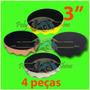 Kit Para Polimento - Boinas De Espumas 3 Polegadas