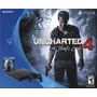 Ps4 Playstation 4 Slim Sony 500gb + Uncharted 4 - Lançamento
