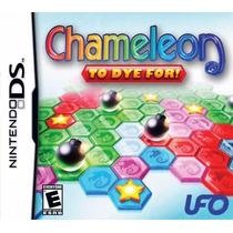 Jogo Nintendo Ds Chameleon To Dye For Original E Lacrado