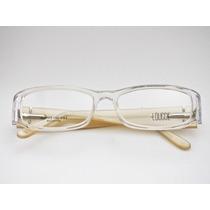 Armação Para Óculos Lougge Acetato Transparente Feminina