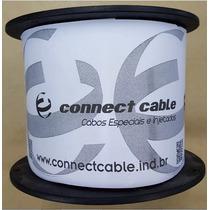 Bobina Cabo De Rede Cat5e Preto 305m Connect Cable.preto.