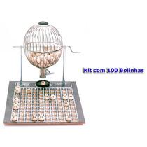 Jogo De Bingo Vispora Nº2 100 Bolas Médio