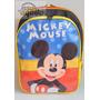 Mochila Mickey Mouse Color Costas Tam G Infantil - Promoção