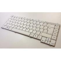 Teclado Notebook Lg R410 R480 R490 Branco Abnt2 Br Original