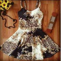 Kit 10 Vestidos Boneca Estampa Oriental Melhor Preço