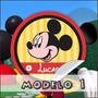 Mickey Mouse Rótulos Personalizados 40 Unidades Só R$ 9,50