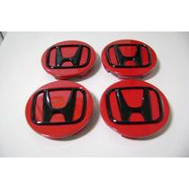 Jogo Calotinhas Centro Rodas Da Honda New Civic Si, Lxr, Exs