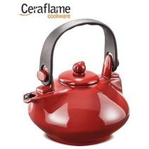 Chaleira Gourmet De Ceramica 1.000ml. Pomodoro Ceraflame