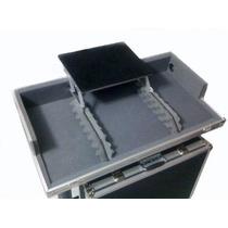 Hard Case Cdj 800/900/1000 + Mixer Com Plataforma Notebook