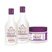 Kit Tratamento Desamarelador Platinum Blond New Liss Hair