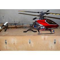 Helicopter Hk 500 Cmt Tt Completo - Com Case De Madeira