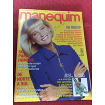 Revista Manequim 07/92 Xuxa Modelo Moda Lingerie Com Moldes