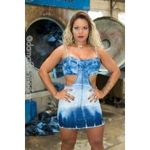 Vestido Jeans Coleção 2016 - Dama Flor Modas
