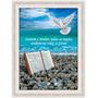 Quadro Biblico 60x80 - Moldura - Louvem O Senhor - Salmo 117