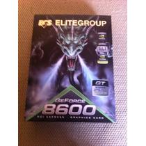 Placa De Video Ecs Geforce 8600gt 512mb Com Defeito