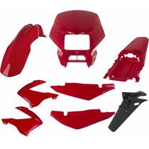 Carenagem Nxr Bross 125 Vermelho 2003/2004/2005 Kit Completo
