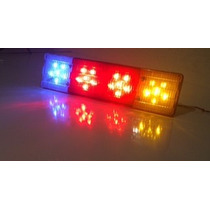 Lanterna De Leds -caminhão--12 Ou 24 Volts--24 Leds