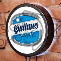 Luminoso / Luminária Parede Bar Com Led - Cerveja Quilmes