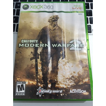 Jogo Original Xbox 360 Call Of Duty Modern Warfare 2 Barato!
