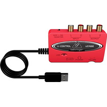 Uca222 Interface Usb Audio E Instrumentos Behringer *djfast*