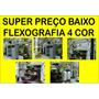Maquina Flexografia 4 Cor