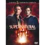 Box Supernatural / Sobrenatural 5ª Temporada 6 Dvds Original