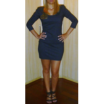 Vestido Triton Cinza Novo Original Tm M