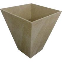 Kit 30 Cachepo-vaso-pote- Mdf Crú 11 X 11 X 13,5.