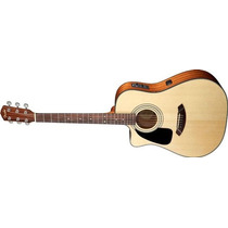 Violao Fender Dreadnought Cd100 Ce Canhoto Na