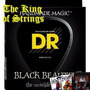 Encordoamento Preto P/ Baixo 4 Cordas Dr Black Beauties .40