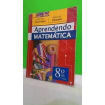 Aprendendo Matemática - 8º Ano 2007 - José Ruy Giovanni