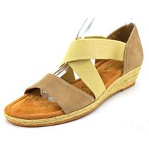 Comfortiva Brye Mulheres N / S Abrir Toe Suede Wedge Sandal