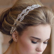 Headband Tiara Em Strass Para Noivas *linda*-peça Única