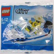 Lego Original 30017 Police Boat - City - Frete R$6,00
