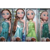 Kit Caixa Com 12 Mini Bonecas Frozen Elsa E Anna (atacado)