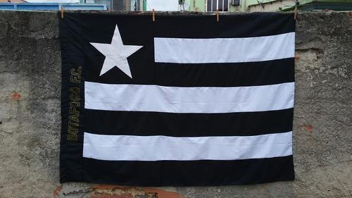 4630f8c8a01d0 Bandeira Tradicional Botafogo Do Rio De Janeiro. R  120