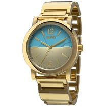Relógio Euro Turquesa Eu2033ae/k4d (aço Inox, Dourado, Analó