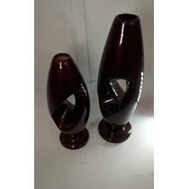 Cod 05 Lindo Vaso Cerâmica Esmaltada Nova Mais Barato
