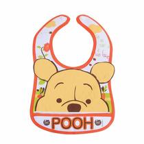 Babador Decorado 3d Ursinho Pooh Disney Baby - Baby Go