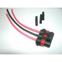 Conector Plug Ventoinha Gm Astra Vectra Blazer S10 4.0mm